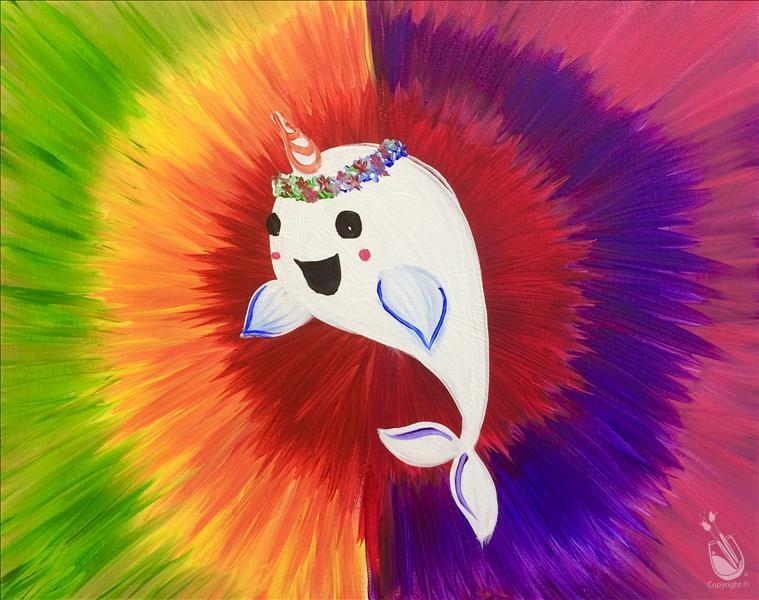 How to Paint *Family Friendly* Psychedelic Narwhal
