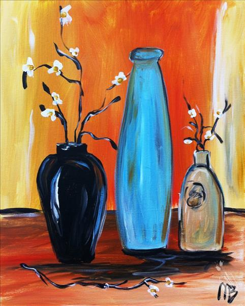 Three Vase Still Life