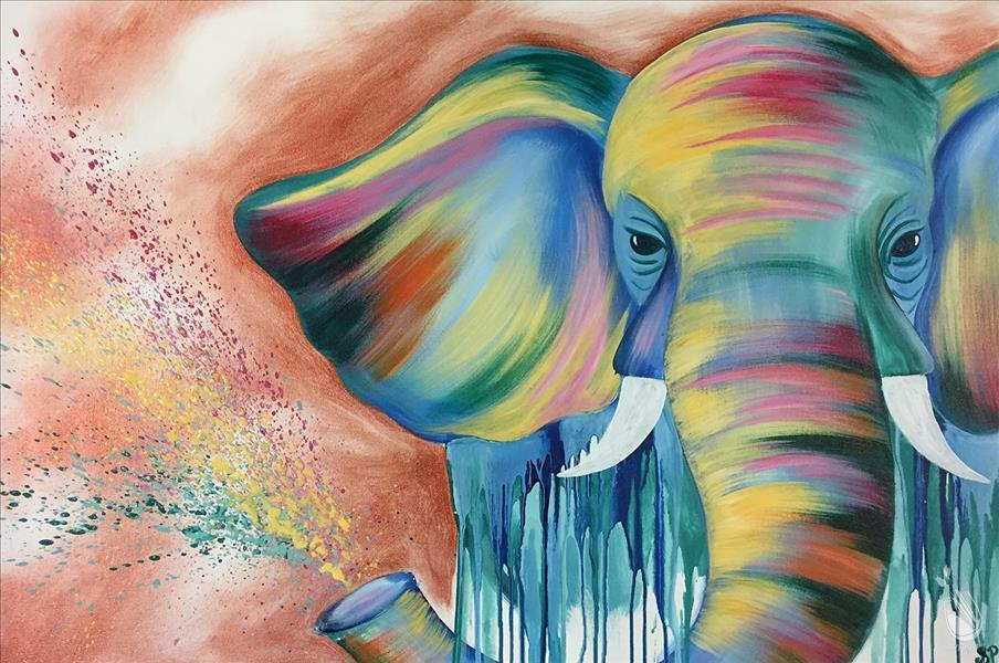 ELEPHANT IN COLOR(XXL 24X36)**Public Event**