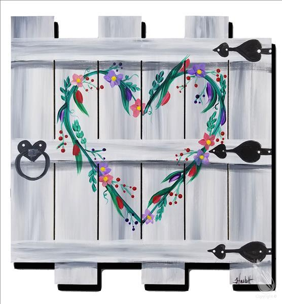 Garden Gate to My Heart Pallet **LIMITED SEATING**