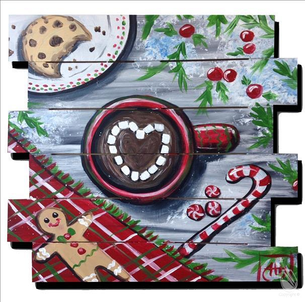 Christmas Love Board Pallet