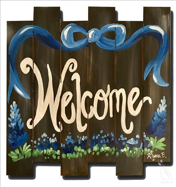 Bluebonnet Welcome Pallet-Fun for 18+!