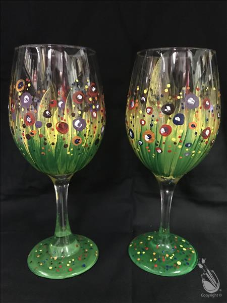 Bursting Blooms - Glassware Set