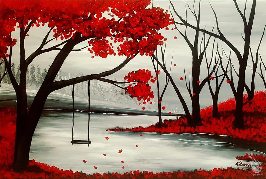 RED PASSION FOREST(XXL 24X36)**Public Event**