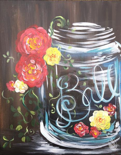 How to Paint Happy Jar