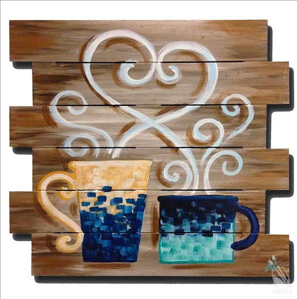 "Coffee Lovers Pallet ""Virtual or In Studio"""