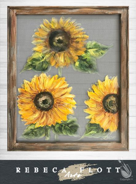 Screen Art - Sunflowers