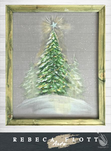 How to Paint Rebeca Flott Arts - Christmas Tree
