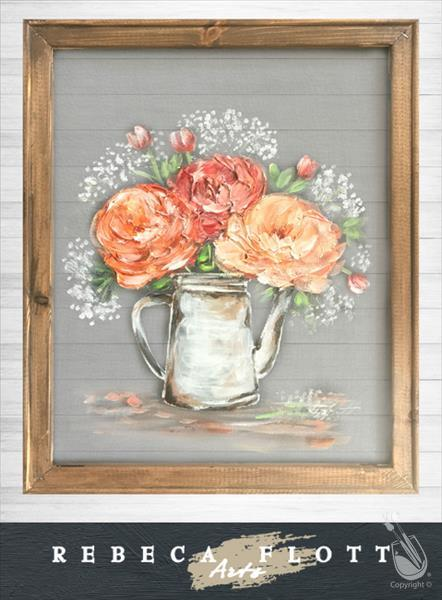 Rebecca Flott Arts - I Must Have Flowers!