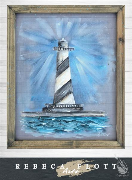 How to Paint Rebeca Flott Arts - Matthew's Lighthouse