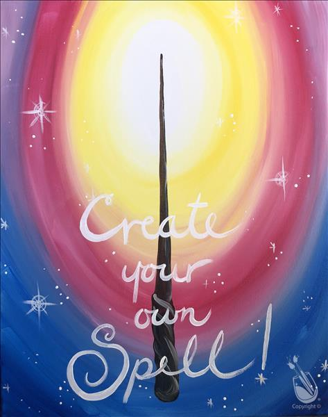 Kids Camp: Create Your Own Spell!