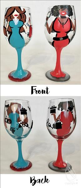 2 Things Girls Love - Glassware Set