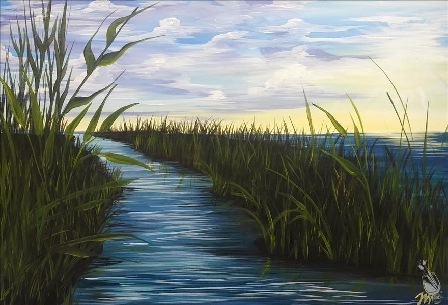 Tranquility in the Marsh  New Art!