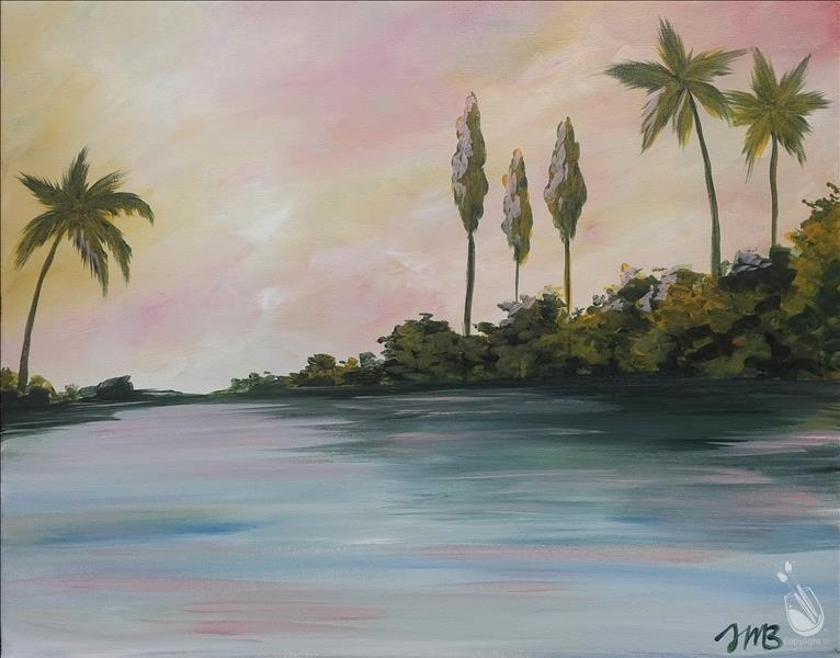 Tropics in Pastel  New Art!