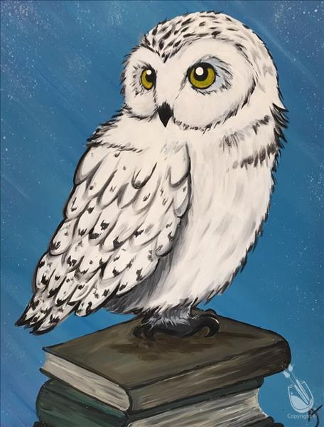 How to Paint Scholarly Owl