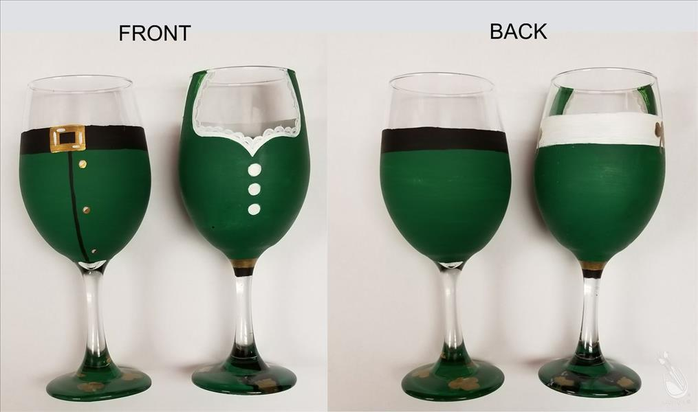Leprechaun Lushes - Glassware Set
