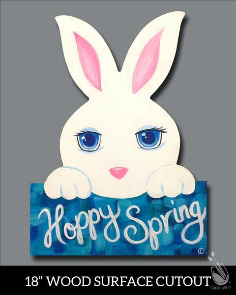 Hoppy Spring Cutout