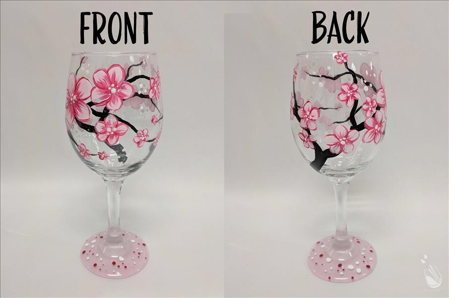 Cherry Blossoms - Glassware Set