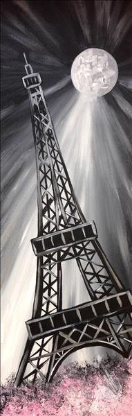 How to Paint Moonlit Eiffel