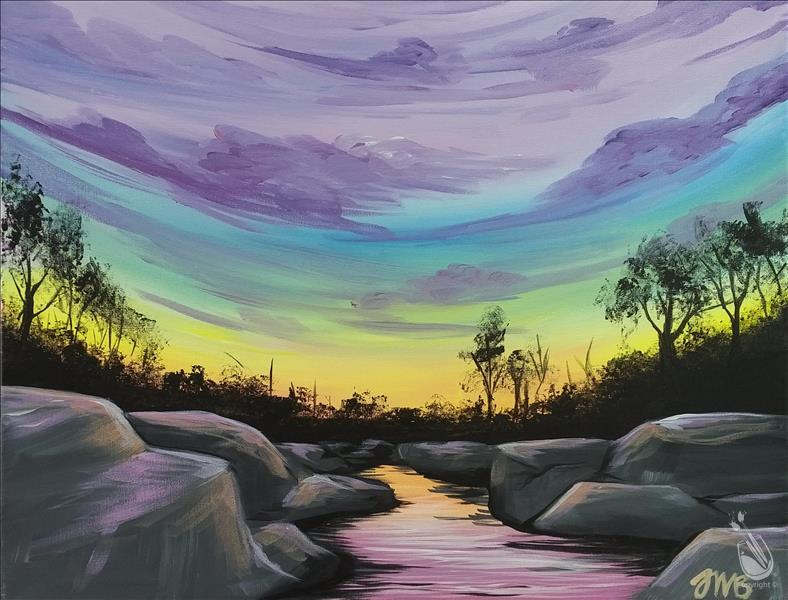How to Paint Belle Isle Sunrise