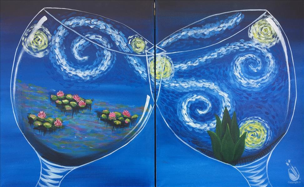 Van Gogh Meets Monet-Couples or Choose a Side!