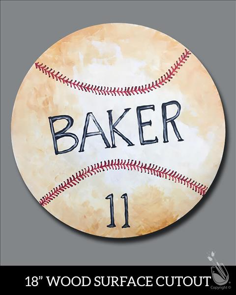 Personalized Sport Ball Cutout