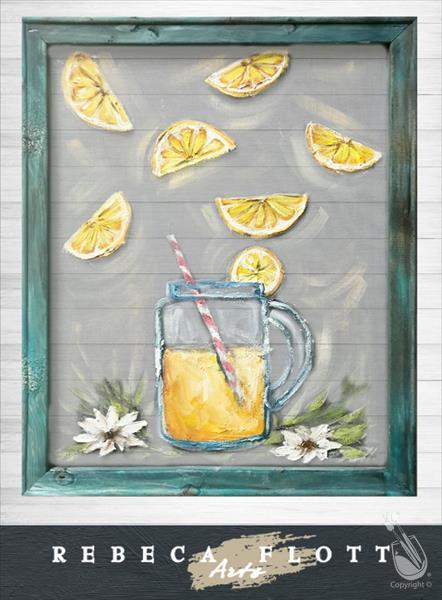 Rebeca Flott Arts - Make Lemonade