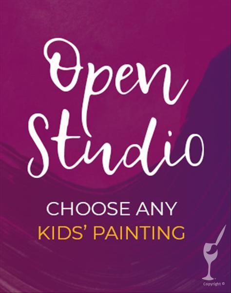 "How to Paint Kid's Choice Open Studio  ""Family Friendly """