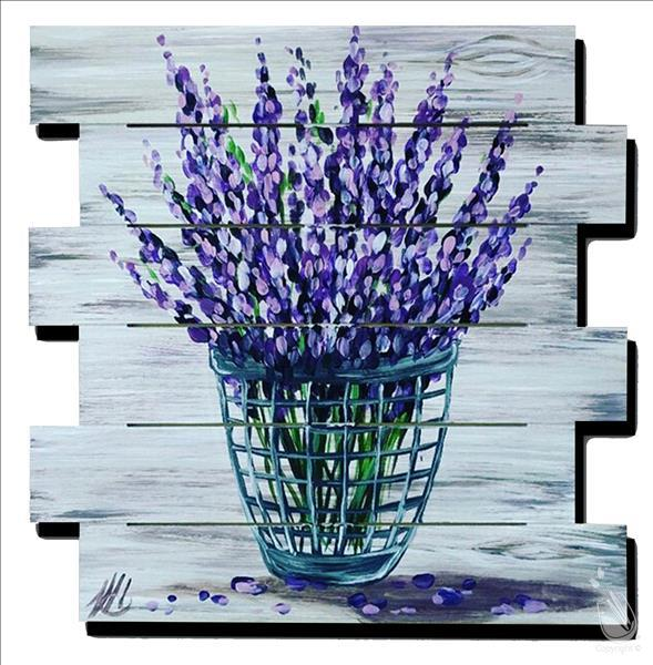 Love of Lavender Pallet (IN STUDIO)