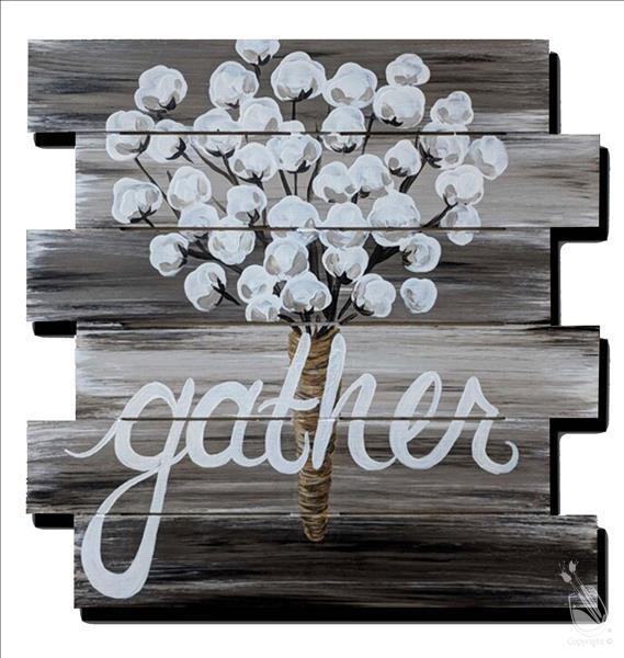 Rustic Cotton Gather