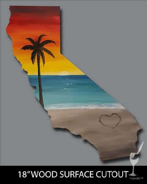 California Dreamin' Cutout