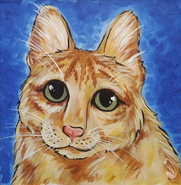 How to Paint PAINT YOUR PET! (12x12 canvas)