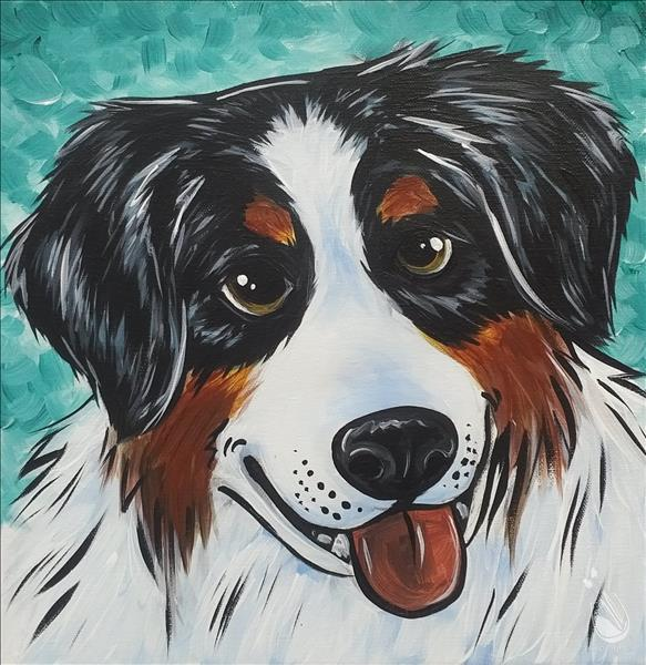 Paint Your Pet on 12 x 12..Limited Seating
