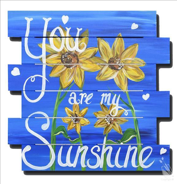 You Are My Sunshine Pallet - More Seats Added!