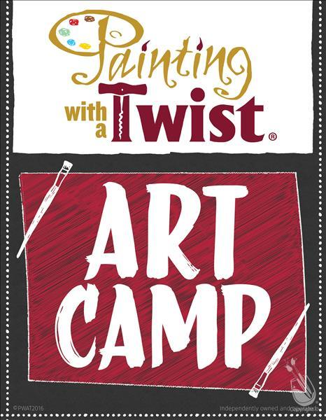 How to Paint Art Camp, Single Day, Ages 6-12