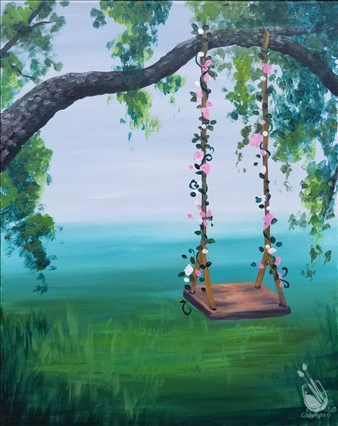 How to Paint New ART! Dream Swing