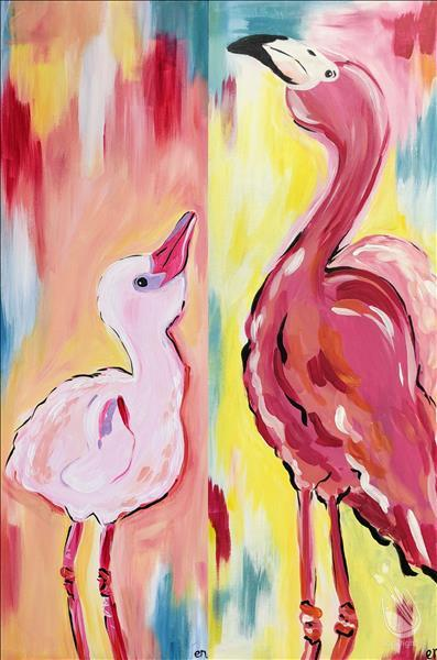 Fabulous Flamingos - Set or Pick a Side