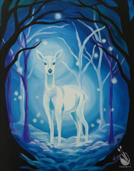 How to Paint Winter Doe