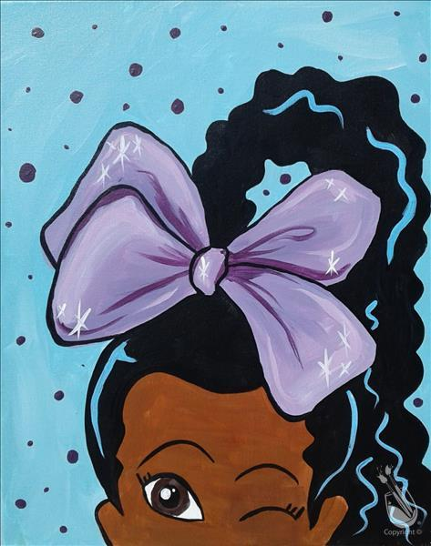 Pretty Purple Bow (All Ages)  **LIMITED SEATING**