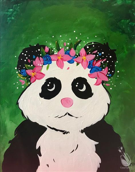 Panda Flower Crown (CANC)