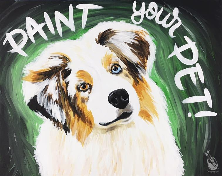 Paint Your Pet! Virtual Live Class!