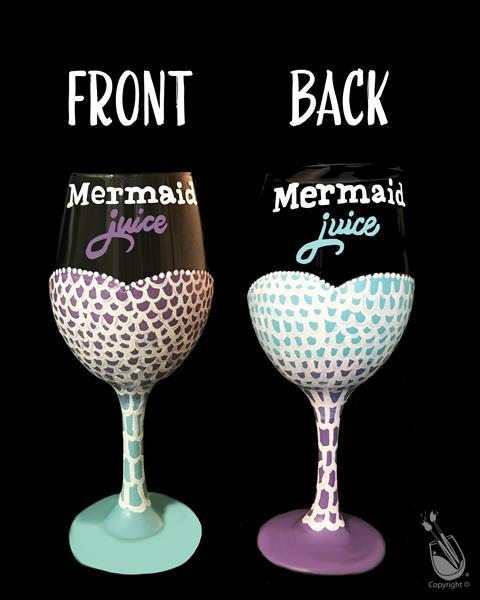 Sip & Paint Wine Glasses