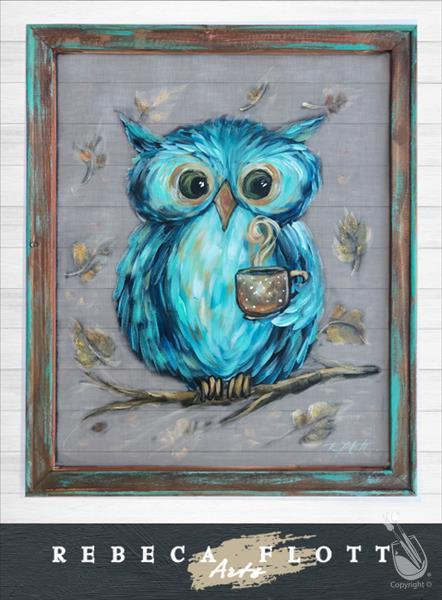 How to Paint Rebeca Flott Arts - Owl Always Love You