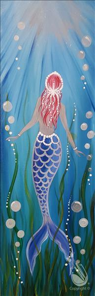 How to Paint Mermaid Monday