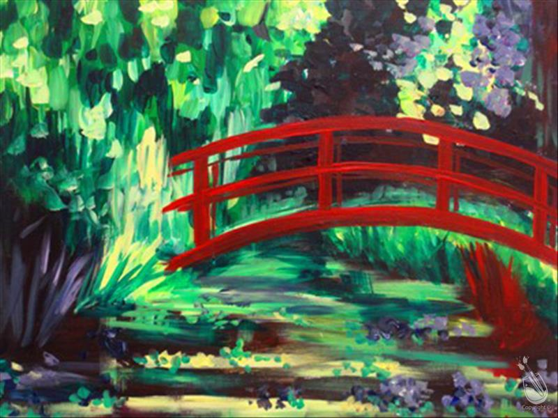 How to Paint Encore Request: Monet's Red Bridge 2Hr $35