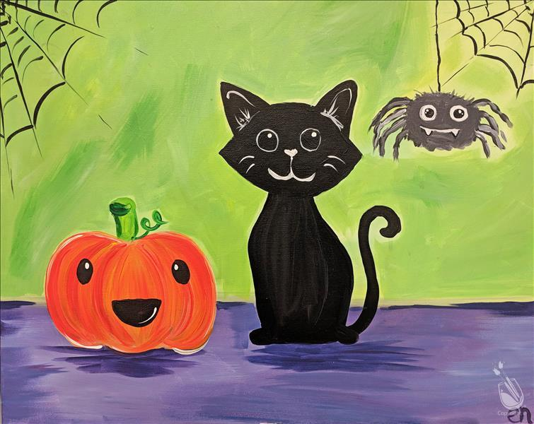 Halloween Cuties - Kids Class: 7&Up