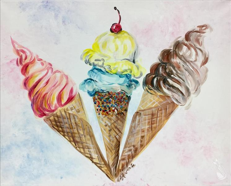 Ice Cream Social Teen Time Ages 12 & Up