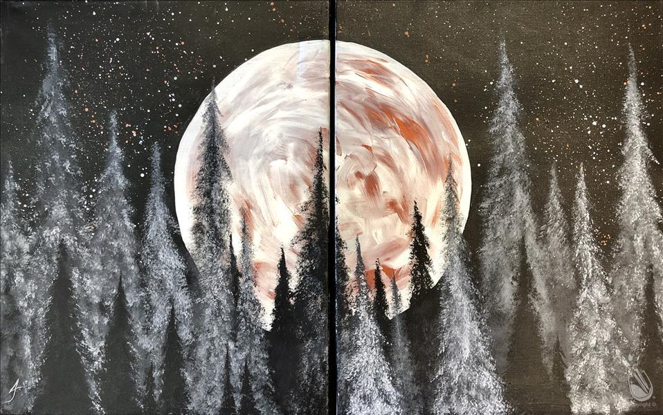 Copper Moonrise - Set ($35 per Side) - IN STUDIO