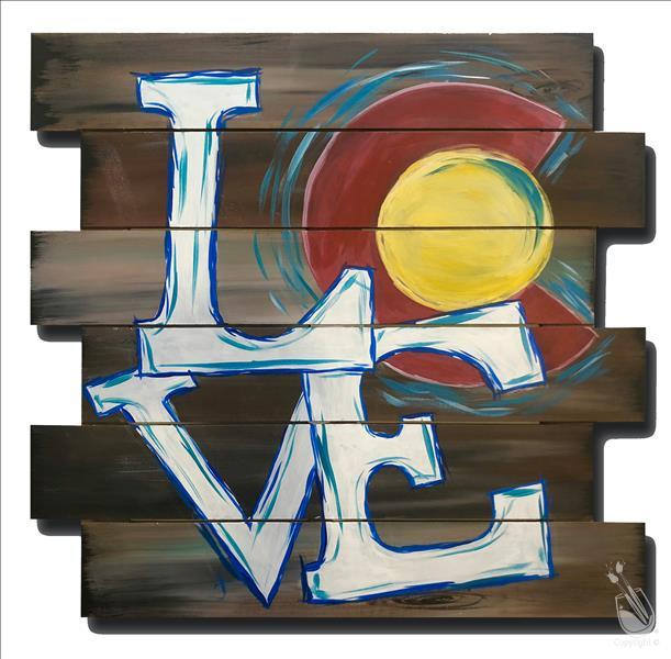 Rustic Colorado Love