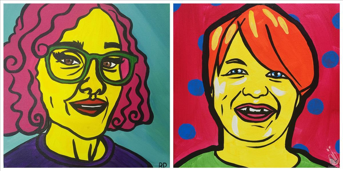 KIDS CAMP - Picasso Day - Pop Art Yourself